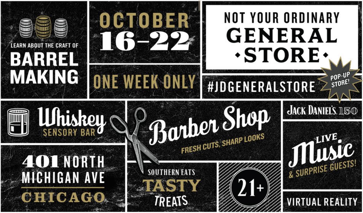 12415edb19427e Jack Daniels General Store pops up in Chicago - Boozist