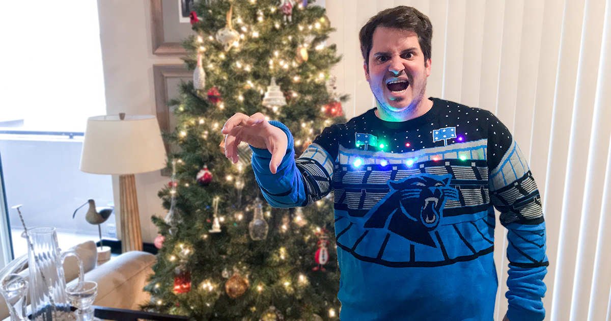 reputable site d927f fc753 Play Music From This New Ugly Bluetooth Sweater - Boozist